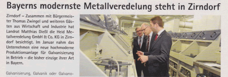 Bayerns modernste Metallveredelung